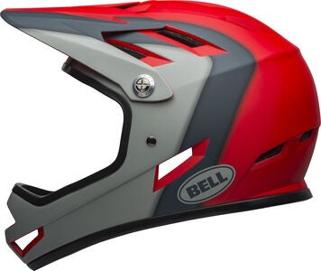 Bell Sanction Fahrradhelm, Mat Crimson/Slate/Dark Grey