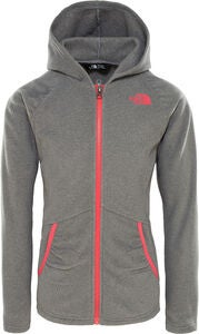 The North Face Mezzaluna Full-Zip Hoodie, Tnf Medium Grey Heather
