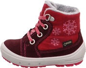 Superfit Groovy GORE-TEX Stiefel, Red/Pink
