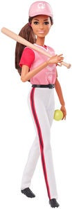 Barbie Olympics Puppe Softball