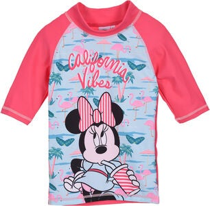 Disney Minnie Maus UV-Shirt, Dunkelrosa