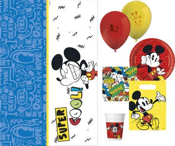 Disney Micky Maus Partyset Super Cool