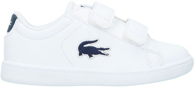 Lacoste Carnaby Evo 318 Sneaker, White/Navy