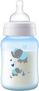 Philips Avent Anti-Kolik Babyflasche 260ml, Blau