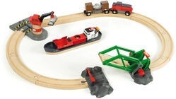 BRIO World 33061 Container Hafen Set