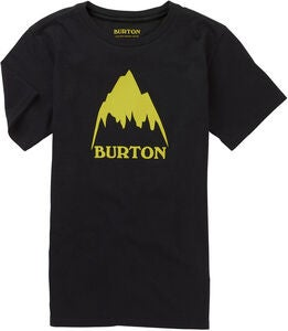 Burton Boys Underhill T-Shirt, True Black