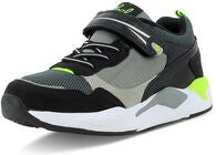 Leaf Matvik Sneakers, Black/Lime