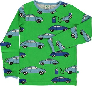 Småfolk Tankstelle T-Shirt, Green