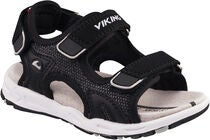 Viking Anchor Sandale, Black/Grey