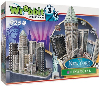 Wrebbit New York Financial District Puzzle