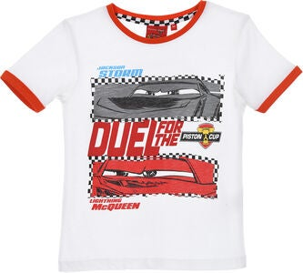 Disney Cars T-Shirt, Weiß