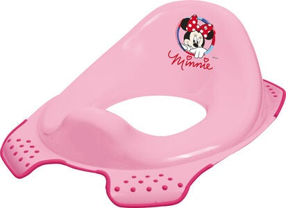 Disney Minnie Maus Rutschfreier Toilettensitz, Rosa
