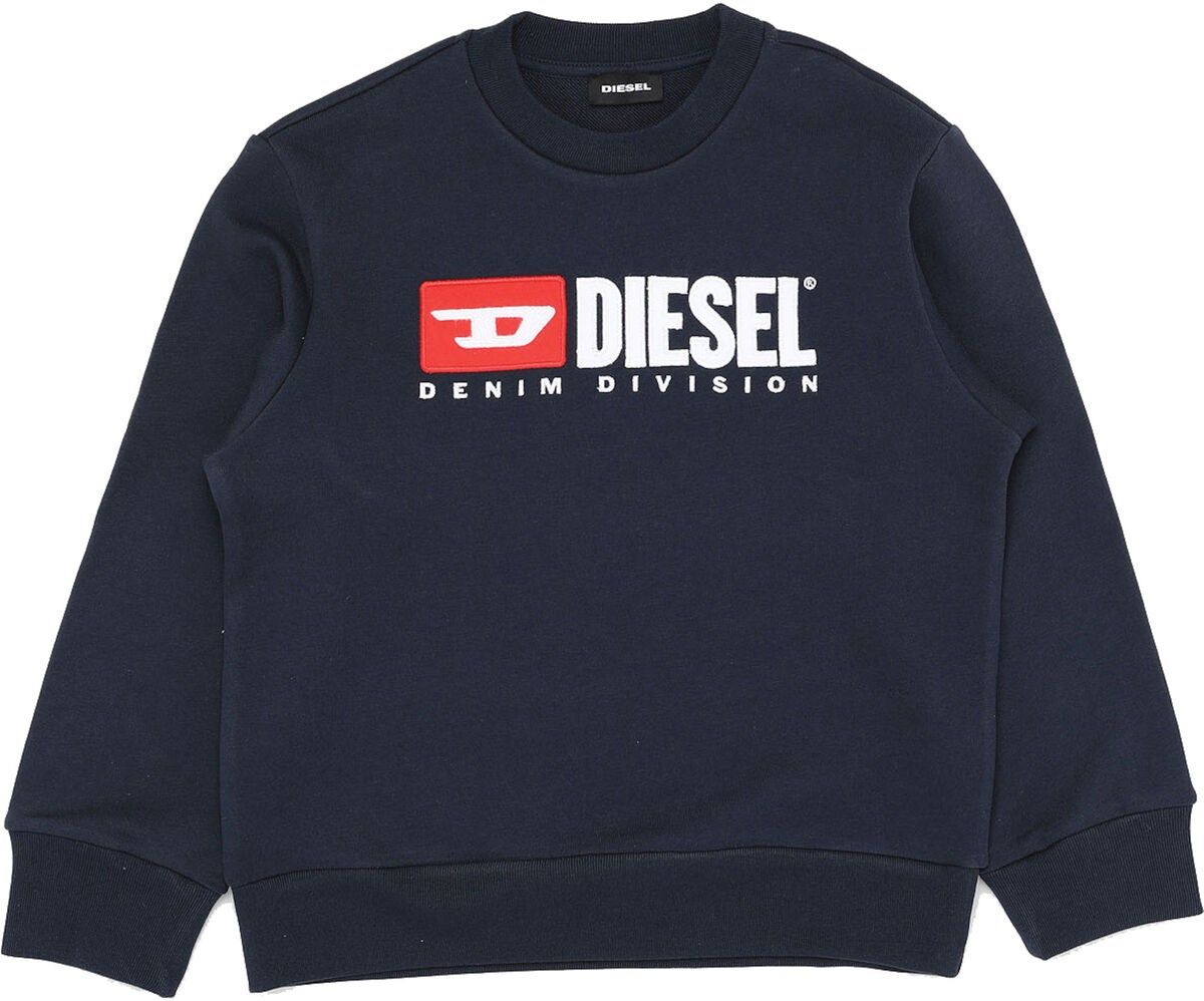 Diesel Screwdivision Sweatshirt, Dark Blue