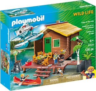 Playmobil 9320 Hütte am See
