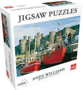 Goliath Games Puzzle Quayside At Conway NW 1000 Teile