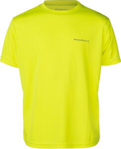 Endurance Vernon Performance T-Shirt, Safety Yellow