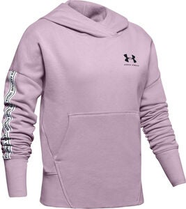 Under Armour Sportstyle Fleece Hoodie, Pink Fog