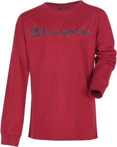 Champion Kids Langärmliges T-Shirt, Biking Red