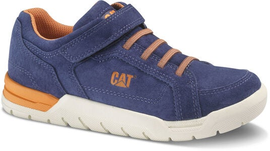 Caterpillar Ripcord Sneaker, Blau/Orange