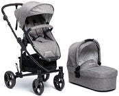 Beemoo Flexi Travel 3 Kombiwagen, Grey Melange