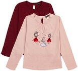 Luca & Lola Martina Top, Pink/Wine