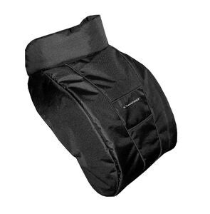 Crescent Compact Windschutz Fußsack All Black, Schwarz