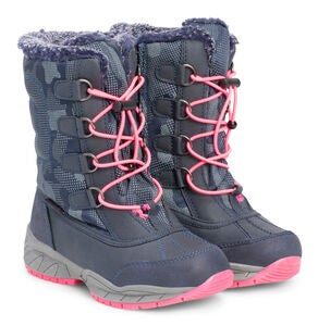 Little Champs Stiefel, Navy/Fuchsia