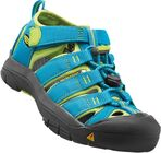 KEEN Newport H2 Little Kids Sandalen, Hawaiian Blue/Green Glow