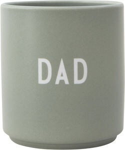 Design Letters Favourite Tasse Dad, Green