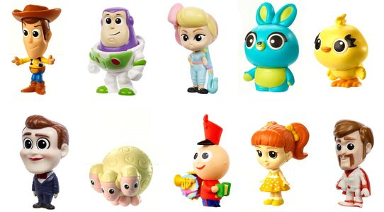 Disney Pixar Toy Story Minifigur Ultimate New Friends 10er-Pack
