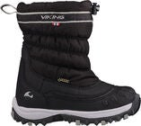 Viking Windchill GTX Winterstiefel, Black/Charcoal