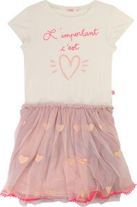 Billieblush Kleid, Off White/Pink