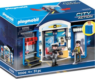 Playmobil 70306 Spielset Polizeistation